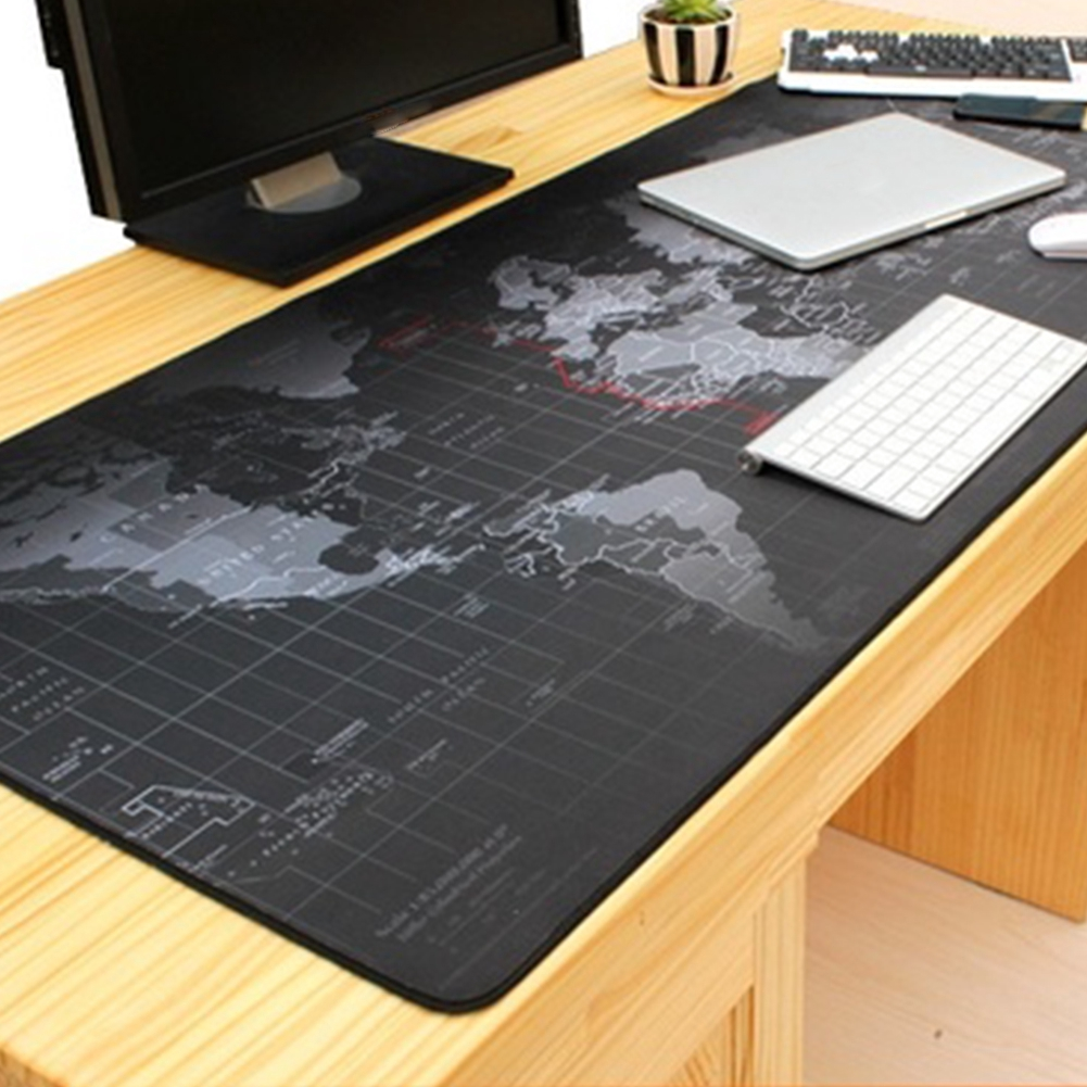 1 x Large Mouse Pad World Map Protects Desk Absorbent Breathable Can Washed Giá chỉ 67.000₫