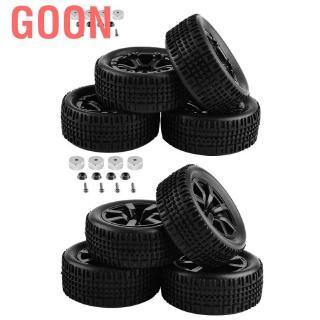 Goon '1:10 4×4 mini 2CH' 4pcs/set RC Truck Rubber Tyres Tires for WPL C14 C24 Remote Control Car Crawler 'Metal 1:10 2