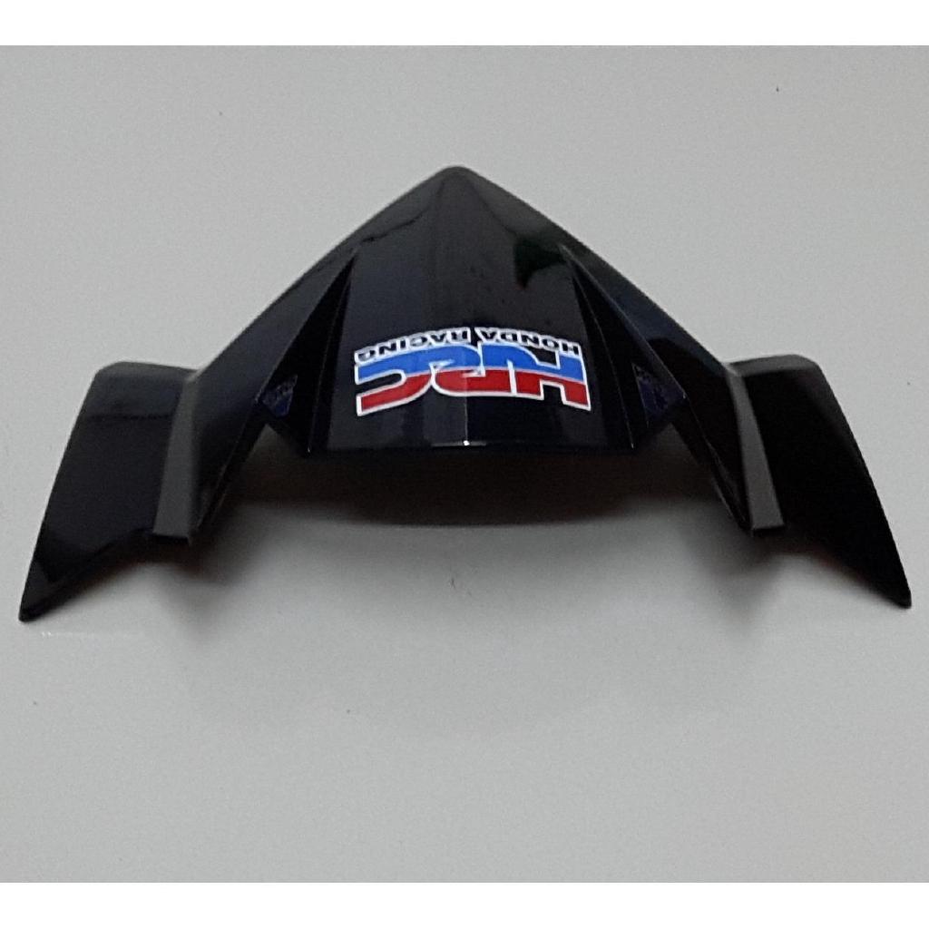 Mão sừng, ốp đầu đèn, chắn gió xe Winner 150 - Màu đen bóng