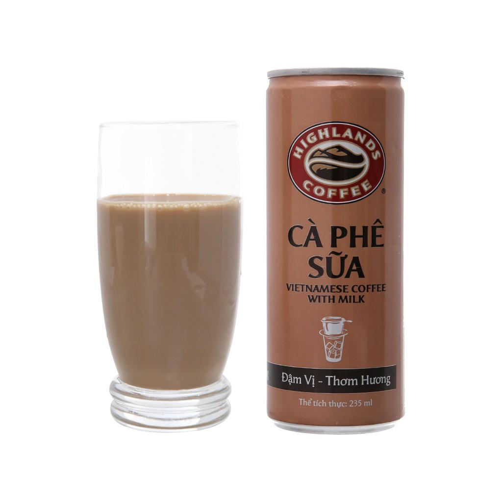 Cà phê sữa đá Highlands Coffee 235ml