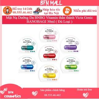 Mặt Nạ Dưỡng Da BNBG Vitamin thần thánh Victa Genic BANOBAGI 30ml ( Đủ Loại ) thumbnail