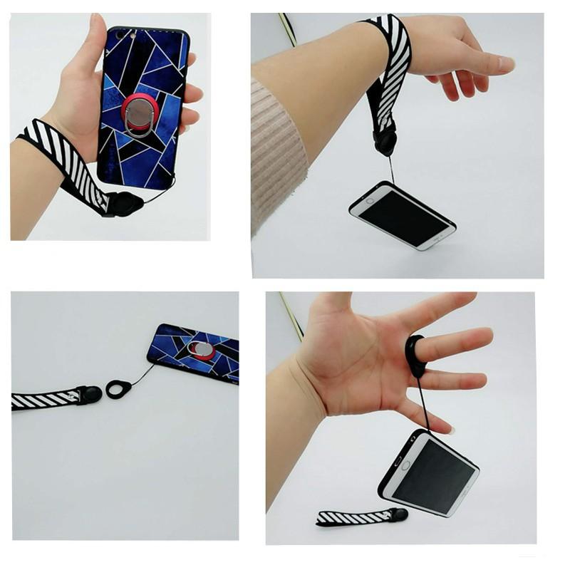 Dây treo điện thoại, dây treo gắn vỏ ốp điện thoại nhiều màu sắc
