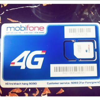 Sim Mobifone 4G