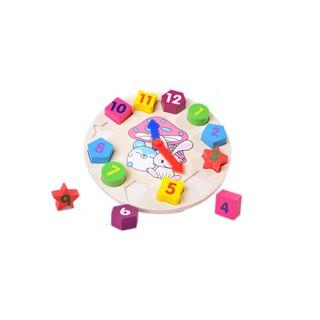[HOT] Đồ chơi đồng hồ bằn gỗ an toàn cho bé – Toca Toys