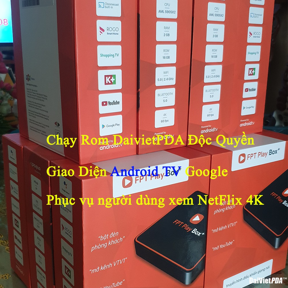Fpt Play Box + 2020 S550 Chạy Android 10