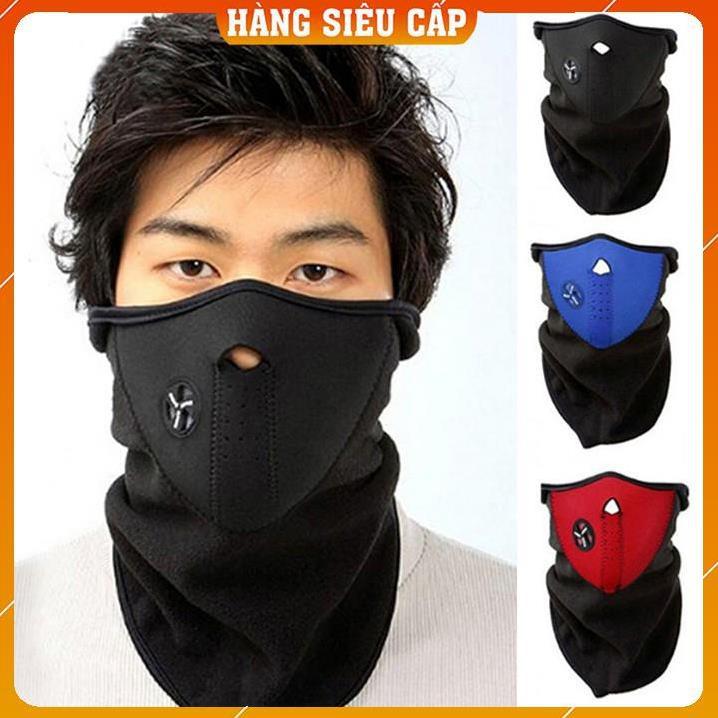 [Mã FA8888 giảm 15% đơn 99K] [Bán Lấy Tương Tác] Khẩu Trang Ninja Bịt Mặt Đi Phượt - Khẩu Trang Vải Đa Năng Phượt Thủ