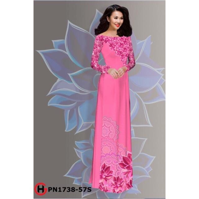 Vải áo dài 3D - 3005536 , 464057182 , 322_464057182 , 240000 , Vai-ao-dai-3D-322_464057182 , shopee.vn , Vải áo dài 3D