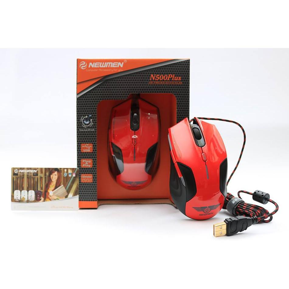 [ Shoppe Sales ] Chuột game Newmen N500 Plus Giá chỉ 230.000₫