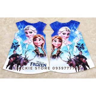 Đầm Elsa - Anna -Olaf Thái Lan