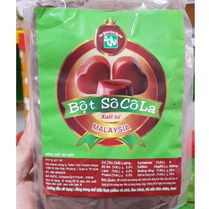 Bột Socola Malaysia Tân Thanh Ngọc 500g