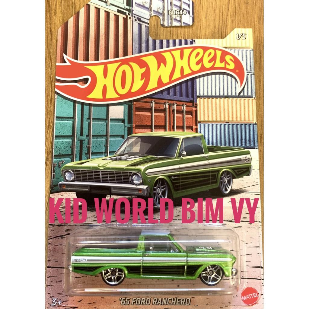 Xe mô hình Hot Wheels Bán tải Pickup Truck Series 2021 '65 Ford Ranchero GRP23.