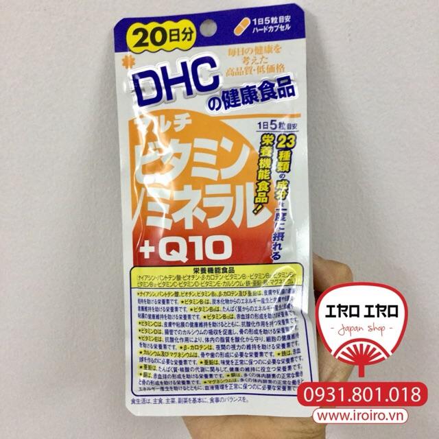Multivitamin + Q10 DHC Nhật Bản