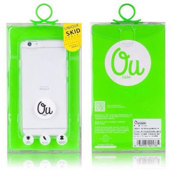 Ốp IPHONE 6 7 7PLUS chính hãng OU Case (Silicon trong suốt)