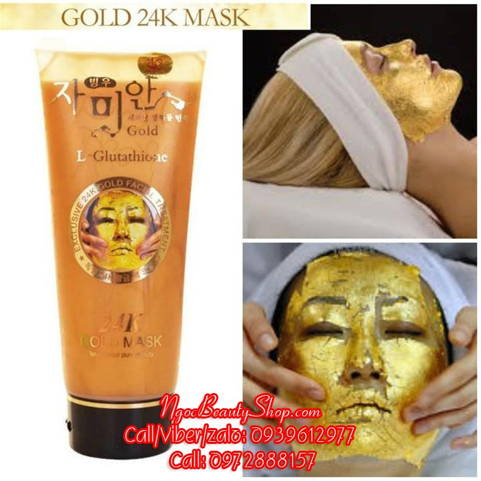 Mặt nạ gel lột trắng da dát vàng 24k Hàn Quốc - Gold Mask L-Glutathione - 2617130 , 754907985 , 322_754907985 , 150000 , Mat-na-gel-lot-trang-da-dat-vang-24k-Han-Quoc-Gold-Mask-L-Glutathione-322_754907985 , shopee.vn , Mặt nạ gel lột trắng da dát vàng 24k Hàn Quốc - Gold Mask L-Glutathione