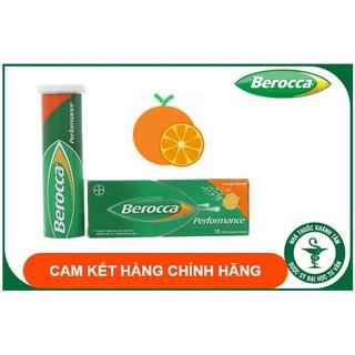 Viên sủi Berocca Performance – Bổ sung Vitamin và khoáng chất – Vitamin C