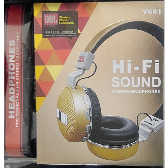 Tai nghe Bluetooth JBL Wireless Stereo Hi-Fi Sound V681 Headphones - 3589988 , 1210620321 , 322_1210620321 , 420000 , Tai-nghe-Bluetooth-JBL-Wireless-Stereo-Hi-Fi-Sound-V681-Headphones-322_1210620321 , shopee.vn , Tai nghe Bluetooth JBL Wireless Stereo Hi-Fi Sound V681 Headphones