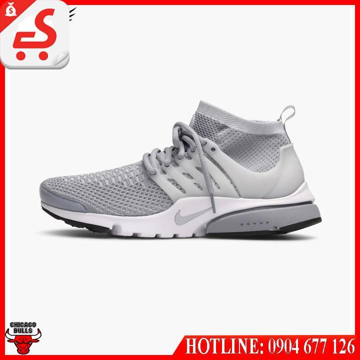 Giày Nike Air Presto Flyknit Ultra  835570-002 (wolf-grey-pure-platinum-white)