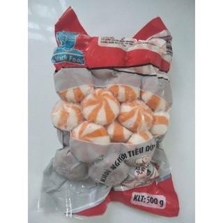 Yêu Thích[Mã GRO2511 hoàn 10% đơn 300K] Bánh bao nhân trứng cá hồi túi 500g 30 viên