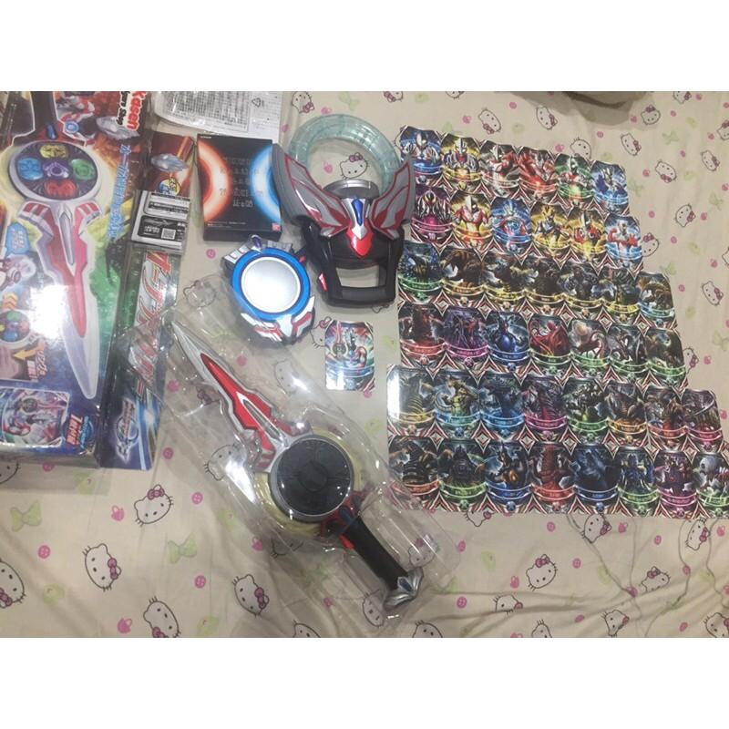 Đồ chơi Siêu nhân điện quang Orb – Ultraman Orb Dx Orb Ring, DX Ultra fusion card, Kaiju card