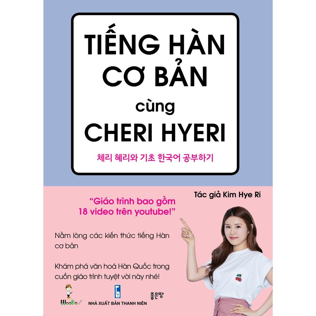 Sách - Tiếng Hàn cơ bản cùng Cheri Hyeri
