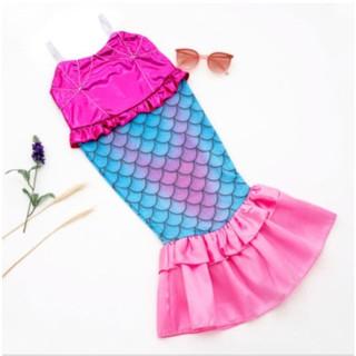 Trang phục hóa trang Váy Nàng Tiên Cá cho bé - Váy đuôi cá hóa trang cho bé gái