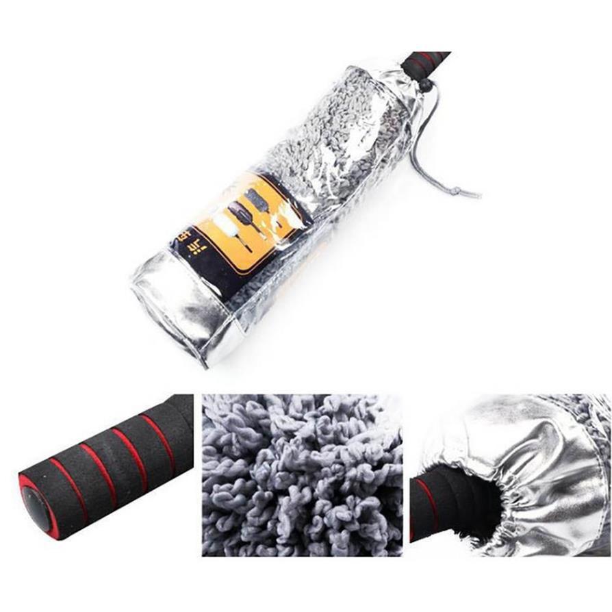 Chổi Nano Lau Rửa Xe Ô tô ⚡️FreeShip ⚡️Chuyên Dụng, Cán Kéo Dài lông mịnh,lau siêu sạch