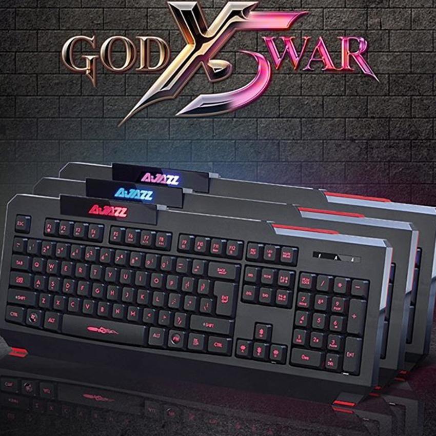 Bàn phím chuyên game Grown Tech X5 led 3 màu