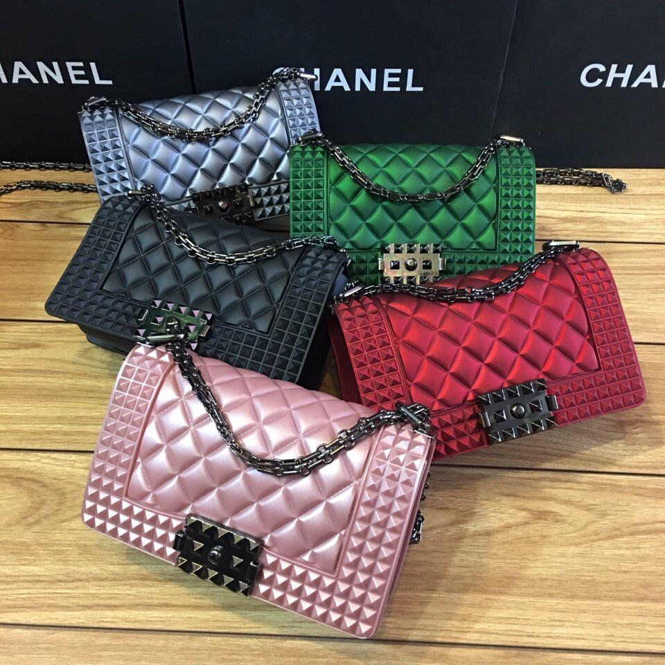 Túi Chanel silicon - 2691126 , 994392017 , 322_994392017 , 350000 , Tui-Chanel-silicon-322_994392017 , shopee.vn , Túi Chanel silicon