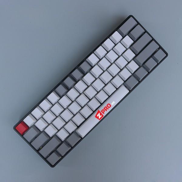 Bộ Keycap Thick PBT Ninja 60% White-Grey 61 phím - 2832054 , 1049955634 , 322_1049955634 , 690000 , Bo-Keycap-Thick-PBT-Ninja-60Phan-Tram-White-Grey-61-phim-322_1049955634 , shopee.vn , Bộ Keycap Thick PBT Ninja 60% White-Grey 61 phím