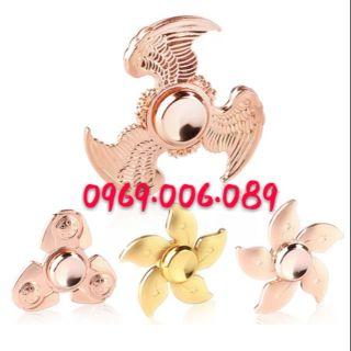 Con quay Fidget Spinner Người Sắt ( Golden Wings ) Cực Chất