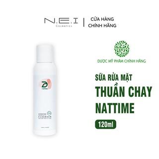 Sữa rửa mặt Thuần chay Men vi sinh NATTIME - Sữa rửa mặt lành tính - 120ml thumbnail