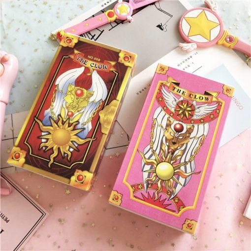 Min1- Bộ Bài Clow Cardcaptor Sakura thẻ bài thủ lĩnh quà tặng xinh xắn