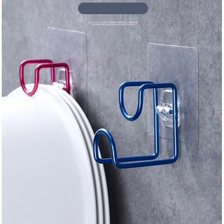 Móc inox 304 treo trậu đồ dùng trong nhà tắm có miếng dán siêu chắc