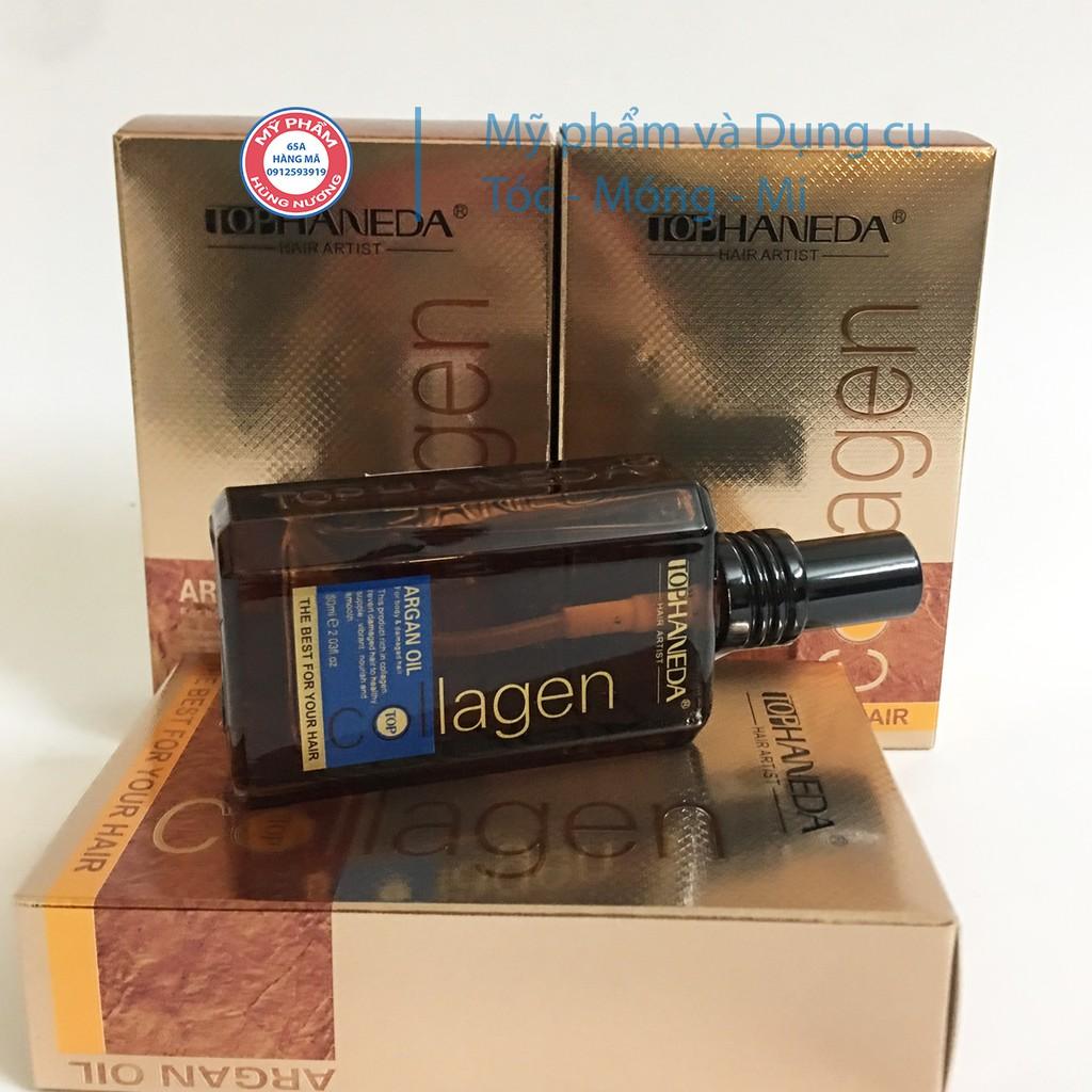 Tinh dầu dưỡng tóc serum HANEDA collagen 60ml dạng tinh dầu