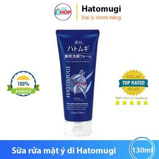 Sữa rửa mặt ngừa mụn dưỡng ẩm ý dĩ Hatomugi Naturie sữa rửa mặt ý dĩ xanh thumbnail