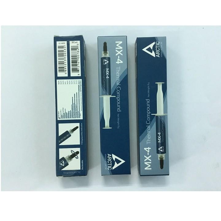 Keo tản nhiệt MX4 - 8gam ( hộp xanh ) dành cho tiệm net, văn phòng nhỏ - 3492555 , 811765034 , 322_811765034 , 219000 , Keo-tan-nhiet-MX4-8gam-hop-xanh-danh-cho-tiem-net-van-phong-nho-322_811765034 , shopee.vn , Keo tản nhiệt MX4 - 8gam ( hộp xanh ) dành cho tiệm net, văn phòng nhỏ