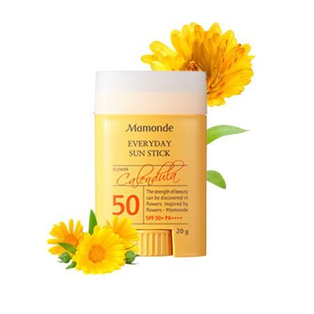 Kem Chống Nắng Dạng Thỏi Cho Mặt Và Toàn Thân Mamonde Everyday Sun Stick SPF50+ PA++++ 20g
