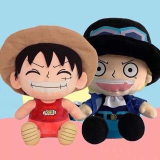 Doll Luffy 25-30-40cm( sẵn 25cm)
