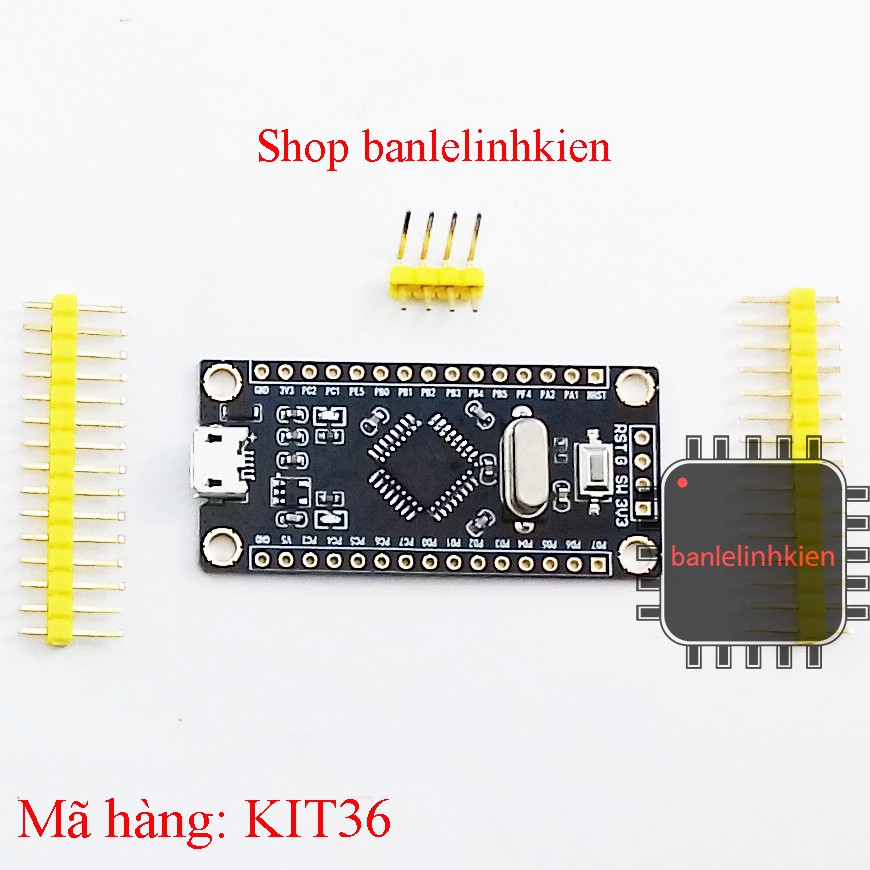 Kit phát triển STM8S105K4T6 mini