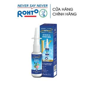 Xịt hỗ trợ điều trị viêm mũi xoang Rohto NoseWash Spray 35ml thumbnail