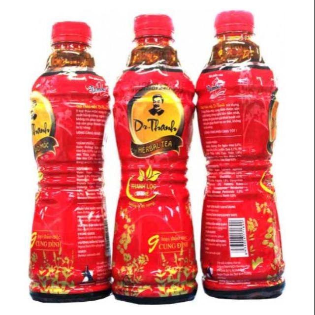 Combo 2 Lốc Trà thảo mộc Dr Thanh chai lớn 500ml