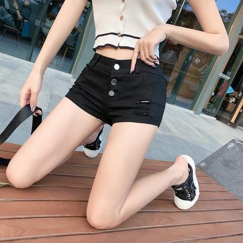 quần short jean rách cho nữ
