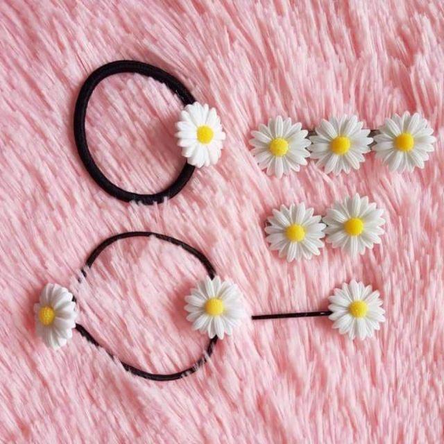 Kẹp 3bông hoa cúc