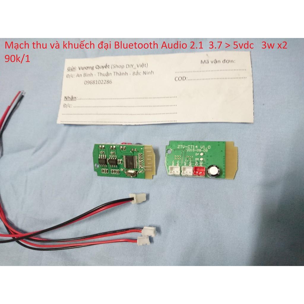 Mạch thu và khuếch đại Bluetooth 2.1