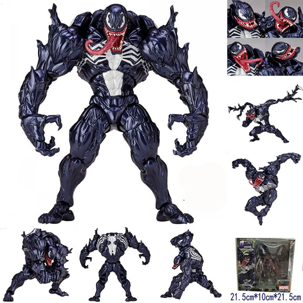 Marvel Venom No.003 Revoltech Series PVC Action Figure Toy Collection Gift