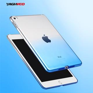 Ốp lưng TPU cho táo iPad Air 2 Vỏ màu trong suốt Vỏ bảo vệ silicon cho iPad 6 Vỏ nhựa mềm