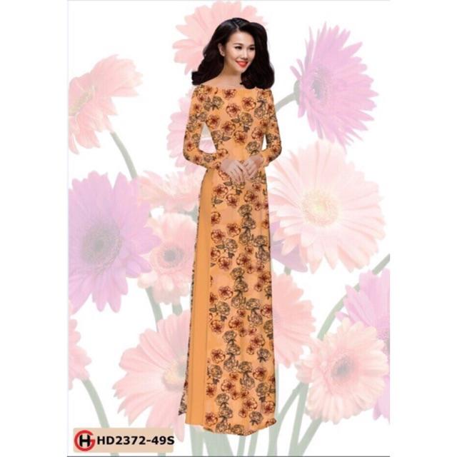 Vải áo dài hoa nhí - 2989539 , 713334061 , 322_713334061 , 240000 , Vai-ao-dai-hoa-nhi-322_713334061 , shopee.vn , Vải áo dài hoa nhí