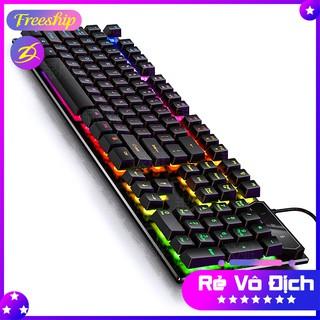 💥[Rẻ vô địch]💥 Bàn phím GAMING V4 giả cơ siêu chất LED 7 màu, độ nhạy cao, sản phẩm đạt tiêu chuẩn ESPORTS [FREESHIP]