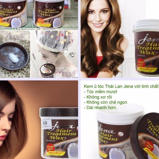 Dầu ủ tóc dừa JENA Thái Lan - 3352254 , 628548989 , 322_628548989 , 44000 , Dau-u-toc-dua-JENA-Thai-Lan-322_628548989 , shopee.vn , Dầu ủ tóc dừa JENA Thái Lan