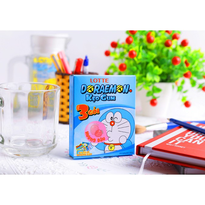 Kẹo gum hương dâu Doraemon hộp 10.5g - 2510641 , 548450074 , 322_548450074 , 15000 , Keo-gum-huong-dau-Doraemon-hop-10.5g-322_548450074 , shopee.vn , Kẹo gum hương dâu Doraemon hộp 10.5g